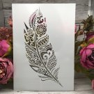 A4 29cm Dancing Ballet Girls DIY Layering Stencils Wall Painting Scrapbook Coloring Embossing Album