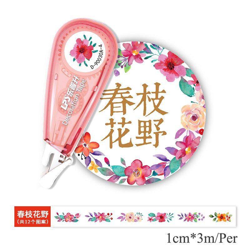 Cute Panda Flower Decorative Correction Tape DIY  Correction Tape For Sticker Scrapbook School Decor