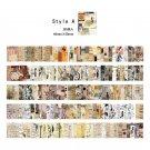 Mr.paper 165pcs/lot Collage Movie Writing Paper Kraft Card Journaling Bullet Scrapbooking Material P