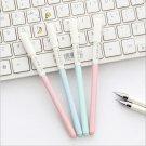 4pcs/set Cute Gel Pens Colored Ink Cat Pen fresh Kawaii Ballpoint School Canetas Boligrafos Gift Sta