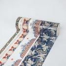 Mr Paper 5pcs/set 16 Designs Gold/Sliver Stamping Chinoiserie Crane Sakura Washi Tape Scrapbooking P