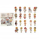 40 pcs/1lot kawaii Stationery Stickers Vintage Alice dream Diary Planner junk journal Decorative Scr