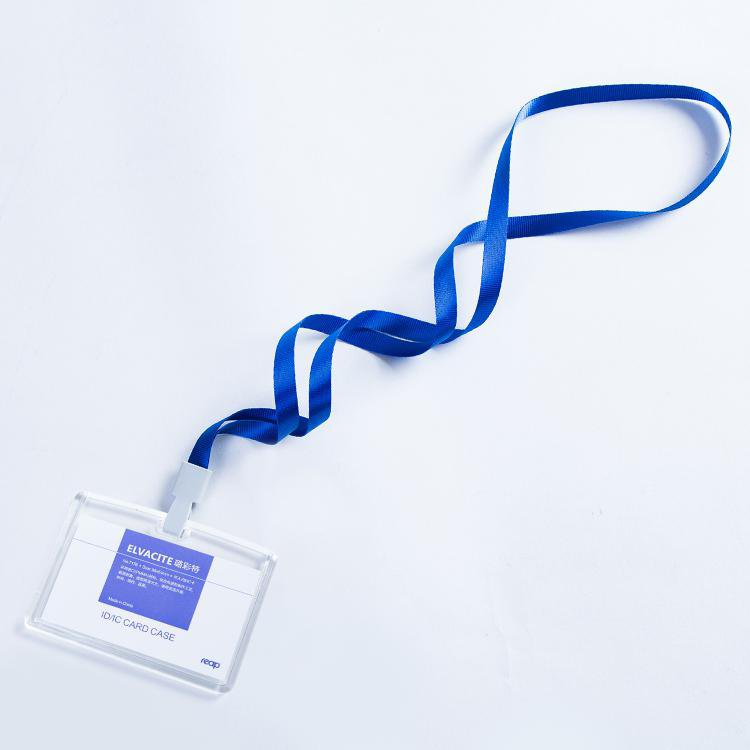 Transparent Acrylic Crystal Staff Identification Card name badge ID Card Access Exhibition badge wit