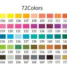 Deli Oil 24/36/48/72 Colors Colored Pencil Wood Graffiti Iron Box Fill Pen Advanced Colored Lead Pai