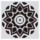 New Design 16 types Mandala Stencil Home Wall Painting DIY template laser Craft 15x15cm Decoration -