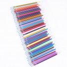 100 Set Colors Gel Pen Refill Rod Multi Colored Painting Gel Ink Pens Refills for Drawing Graffiti S