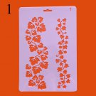 Rose Flower Rulers Stencils For Walls Painting Scrapbooking Cute Gift Stamp Photo DIY Album Decor Em