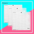 Replacement Cutting Mat Transparent Adhesive Cutting Mat with Measuring Grid for Silhouette Cameo Pl