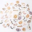 Mr.paper 24 patterns Cute Children Deco Sticker Lovely Cartoon Animals Plants Flowers Japanese Kawai