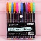 12/18/24/36/48 Colors Gel Pens Set Glitter Gel Pen for Adult Coloring Books Journals Drawing Doodlin