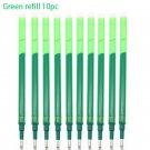 0.5mm Erasable Bullet Set Gel Pen Blue / Black / Green / Red Ink Magic Erasable Refill Set for Schoo