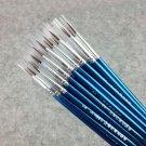 20 Pcs/Set Fine Hand Painted Thin Hook Line Pen Blue Art Supplies Drawing Art Pen Paint Brush Nylon