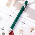 8PCS/Lot Promotion Ballpoint pen 2 in 1 Stylus Drawing Tablet Pens Capacitive Screen Touch Pen Schoo