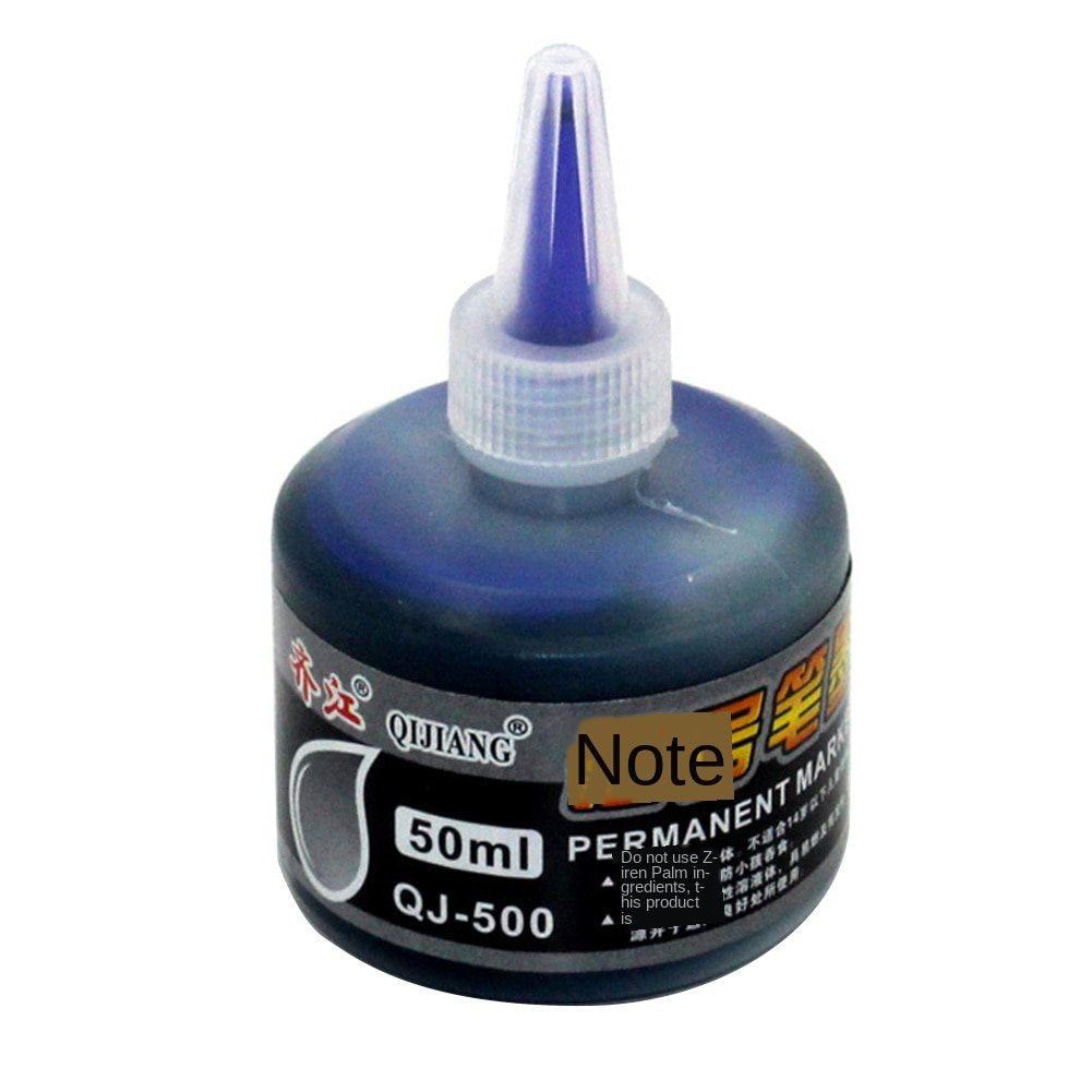 New Arrival 50ml Permanent Instantly Dry Graffiti Black Blue Red Oil Marker Pen Refill Ink for Marke