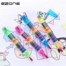 EZONE 20 Colors Wax Crayon Korean Creative Graffiti Kawaii Pens For Kids Painting Drawing Art Supply