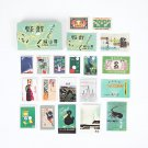 Mr.paper 60Pcs/box Japan Scrapbooking Original Deco Sticker Wove Paper Kids Creative Bullet Album Jo