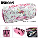 Unicorn Big Capacity Pencil Case Quality Pouch Can Hold 80 Pencil Unicorn School Supplies Stationery