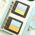 Laser Notebook Planner Organizer Binder Books Filofax Journal Sketchbook Accessories Diary School Of