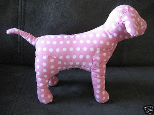 NEW VICTORIA SECRET PINK COLLECTION DOG DOGGIE WHITE