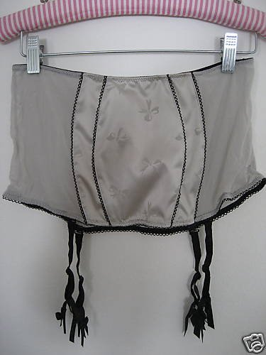NWT VICTORIA SECRET RETRO GLAM BOMBSHELL GARTER SKIRT S