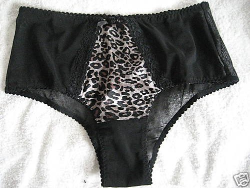 NWT VICTORIA SECRET VERY SEXY SATIN MESH PANTY M