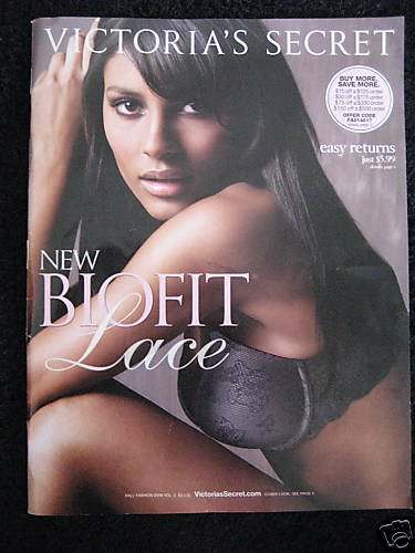 VICTORIA SECRET SEXY LACY BRA LINGERIE CATALOG 2008