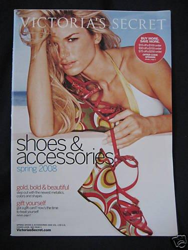 VICTORIA SECRET SEXY SHOE CATALOG 2008 MARISSA MILLER