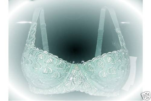 NWT SEXY PADDED  WATER GEL BALCONET BRA PUSH UP 32B