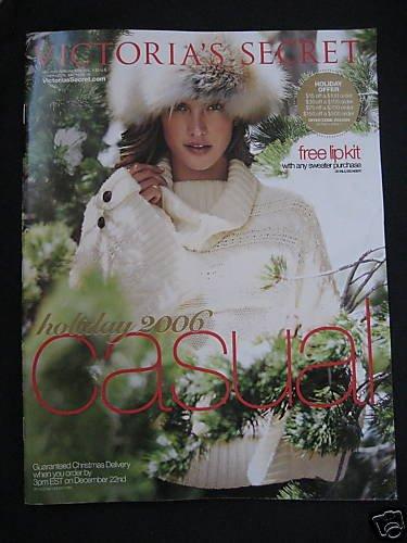 VICTORIA SECRET SEXY HOLIDAY CASUAL CATALOG 2006