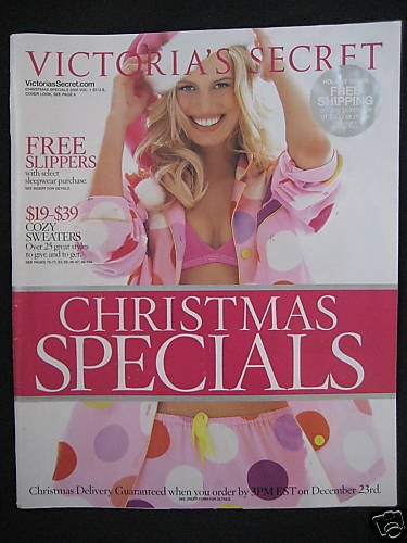 VICTORIA SECRET CHRISTMAS SPECIALS 2005 CATALOG