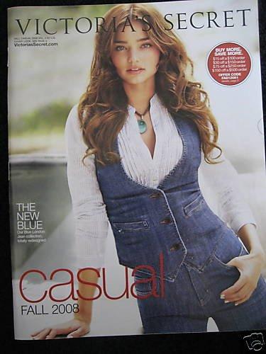 VICTORIA SECRET SEXY WOMEN FALL LINGERIE CATALOG 2008