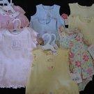 NWT HUGE LOT CARTERS TWIN GIRLS SUNSUIT DRESSES 6 9 MO