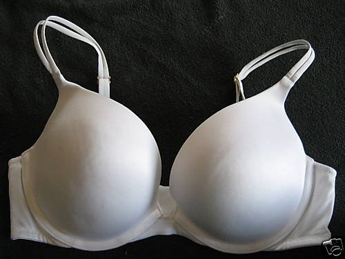 NEW VICTORIA SECRET VERY SEXY GEL PUSH UP BRA 32B WHITE