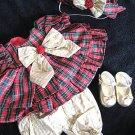 CHRISTMAS CABBAGE PATCH DRESS SHOES HAT CLOTHES LOT