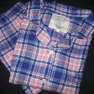 NEW JOE BOXER PLAID FLANNEL PAJAMA PJ LOT LOUNGE SET 2X