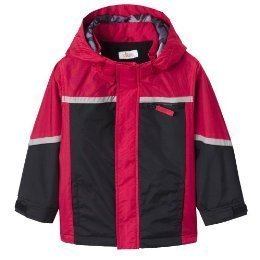 NeW BOYS HEAVY 4-IN-1 JACKET COAT WINTER RED 2T 2