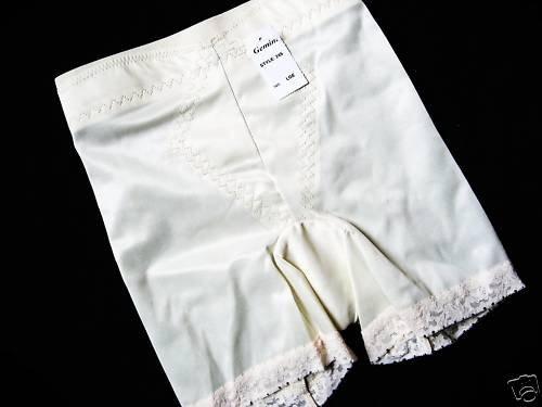 NWT LONG LEG SHAPER GIRDLE TUMMY CONTROL PANTY WHITE 2X