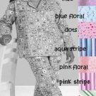 NEW COZY FLANNEL PJ PAJAMA LOUNGE SET WOMANS 5X 32W-34W