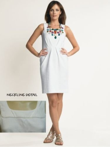 BANANA REPUBLIC CLASSIC SEAMED TEXTURED SHEATH DRESS 12