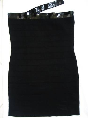NEW VICTORIA SECRET TUBE SWEATER BANDAGE JEWEL DRESS XL