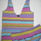 NEW  LOT BODY BY VICTORIA STRETCH CAMI PJ HIPHUGGER S