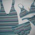 NEW  LOT BODY BY VICTORIA CAMI BRA THONG&PANTY S XS 34A