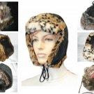 NEW PARKHURST FAUX FUR SUEDE WINTER WARM  TRAPPER HAT