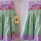 TWINS GOODLAD BUTTERFLY EASTER DRESSES+PANTY LOT 24mo
