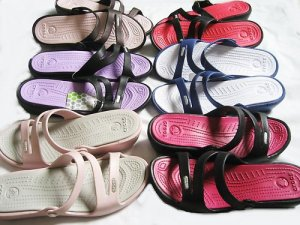 NEW WOMENS STRAPPY WEDGE SLIDES SANDALS open TOE SHOES