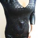 $248 VICTORIA SECRET SEXY SEQUIN TUNIC SWEATER DRESS