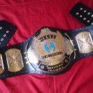 WWF Classic Gold Winged Eagle Championship Replica Belt Adult Size Title Belt