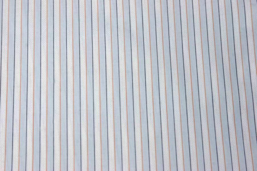 Banana Republic Striped Dress Shirt Non-Iron Small Men's Size 14.5 X 34