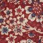 Ralph Lauren Queen Bedskirt Villa Martine Red Floral Size