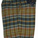 Ralph Lauren Polo Shorts Reversible Madras Plaid Men's Size 38